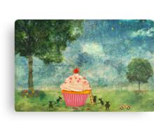 The Mice & The Cupcake Metal Print