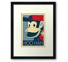 Diddy Kong - Hoo Hah Framed Print