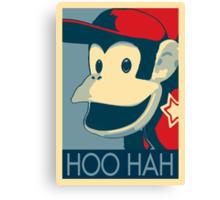Diddy Kong - Hoo Hah Canvas Print