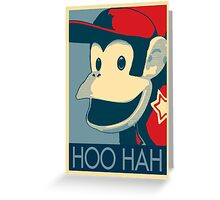 Diddy Kong - Hoo Hah Greeting Card