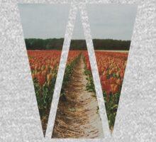 Dutch Tulips Fields Kids Clothes