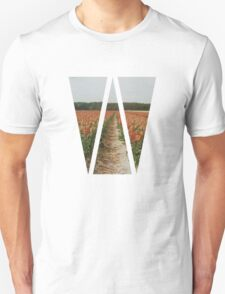 Dutch Tulips Fields T-Shirt