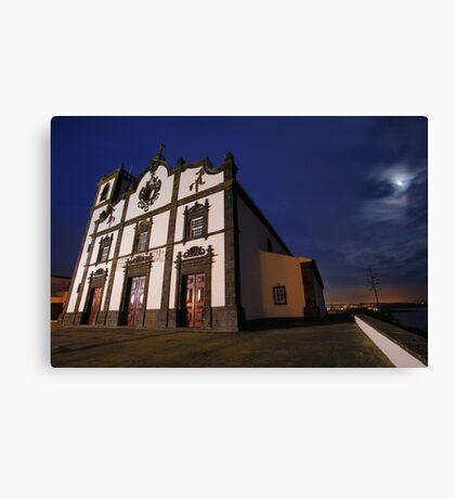 Sao Roque church, Azores Canvas Print