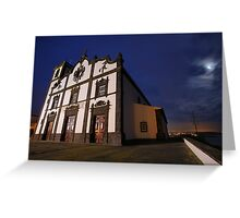 Sao Roque church, Azores Greeting Card