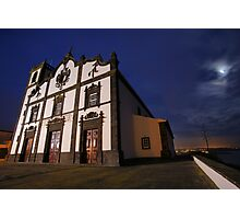 Sao Roque church, Azores Photographic Print