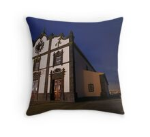 Sao Roque church, Azores Throw Pillow