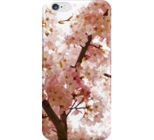 Pink Cherry Blossoms - Impressions Of Spring iPhone Case/Skin