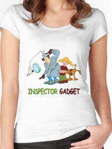 Inspector Gadget Women's Fitted Scoop T-Shirt