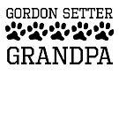 Gordon Setter Grandpa by kwg2200