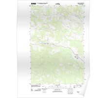 Maine USGS Historical Map Daigle 20110831 TM Poster