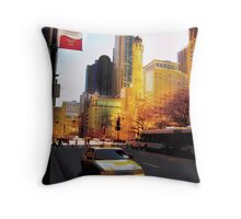 Recollections of the Magnificent Mile, Windy City Throw Pillow
