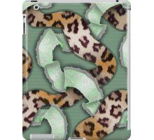 Leopards'n Lace - Green iPad Case/Skin