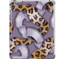 Leopards'n Lace - Purple iPad Case/Skin