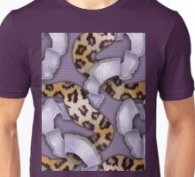 Leopards'n Lace - Purple Unisex T-Shirt