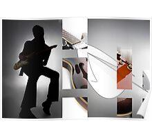 Guitar Rockstar Poster
