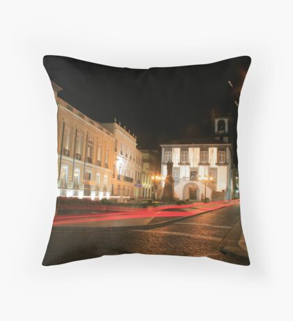 Ponta Delgada, Azores Throw Pillow