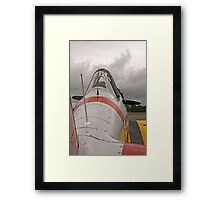 WWII Fighter Framed Print