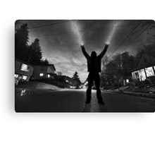 The Weatherman Canvas Print