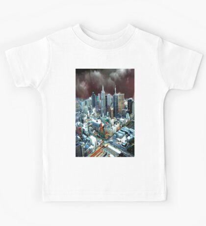 Melbourne Skyline Kids Tee