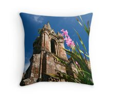 Gothic chapel, Azores Throw Pillow