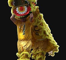 Lion in Easter Parade, Bendigo, Vic. Australia by Bev Pascoe