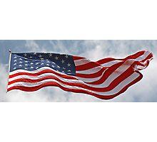 United States Flag Photographic Print