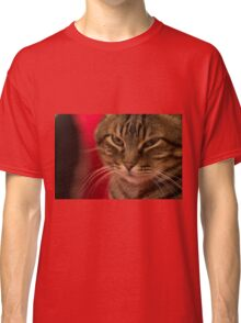 Angry cat Classic T-Shirt
