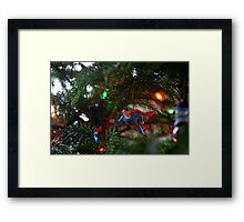 """""""Look up in the Tree.... It's Superman"""" Framed Print"""
