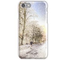 Greenwich Park London Art iPhone Case/Skin