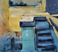 Back Door Steps by John Fish