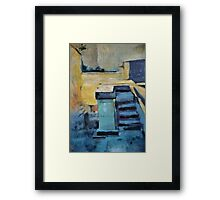 Back Door Steps Framed Print
