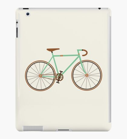 Green Fixie iPad Case/Skin