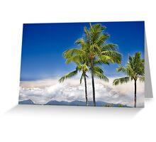 Island Paradie Greeting Card