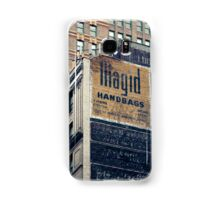 Handpainted mural advertisements of the 1940s in Manhattan, NYC - Kodachrome Postcard  Samsung Galaxy Case/Skin
