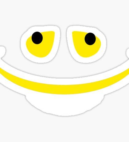 I've got the biggest smile! Sticker