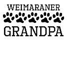 Weimaraner Grandpa by kwg2200