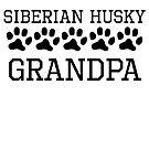Siberian Husky Grandpa by kwg2200