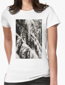 Draped in Splendor Womens Fitted T-Shirt