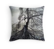 The End of a Long Life, Birch Throw Pillow