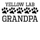 Yellow Lab Grandpa by kwg2200