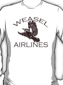 Weasel Airlines T-Shirt