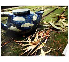 Wild Teapot Poster
