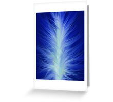 Blue Flame Greeting Card