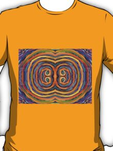 Psychedelic Double Circle Supreme T-Shirt