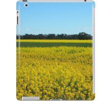 Golden Fields and Sky iPad Case/Skin