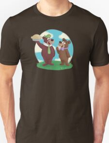 Yogi and Boo Boo Unisex T-Shirt