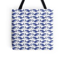 A pod of blue whales Tote Bag