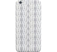 Art Deco White Shells iPhone Case/Skin