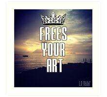 FYA - Frees Your Art #3 Art Print