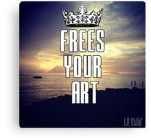 FYA - Frees Your Art #3 Canvas Print
